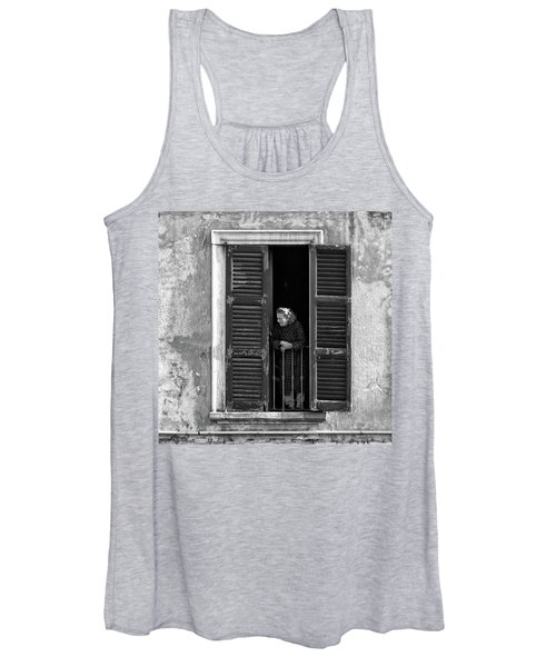 Looking Outside Women's Tank Top