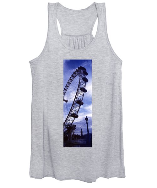 Low Angle View Of The London Eye, Big Women's Tank Top