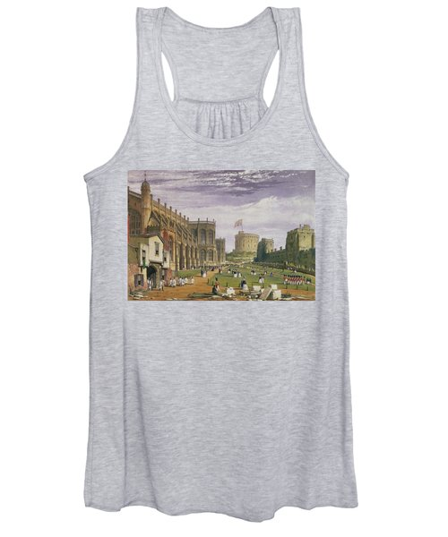 Lower Ward With A View Of St Georges Women's Tank Top