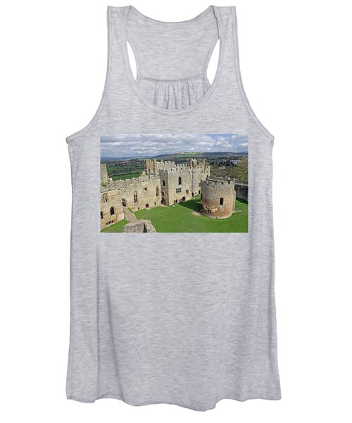 Ludlow Castle Chapel And Great Hall Women's Tank Top
