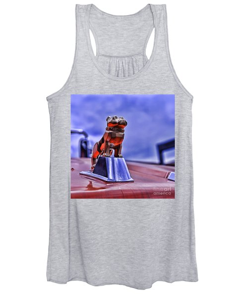 Mack The Bulldog Mascot Women's Tank Top