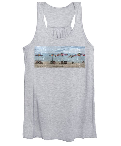 Malazy Day At The Beach Women's Tank Top