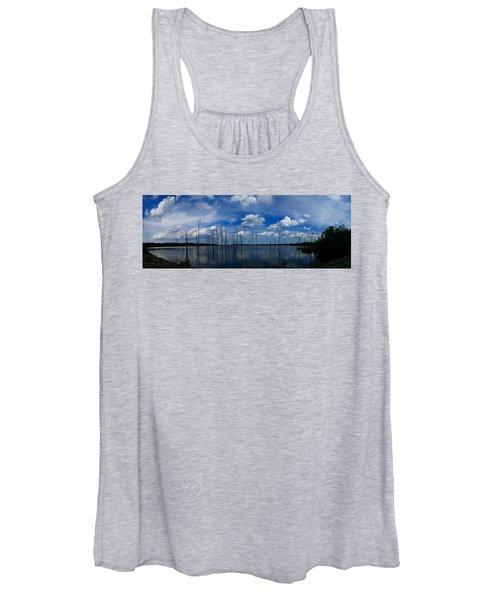 Manasquan Reservoir Panorama Women's Tank Top