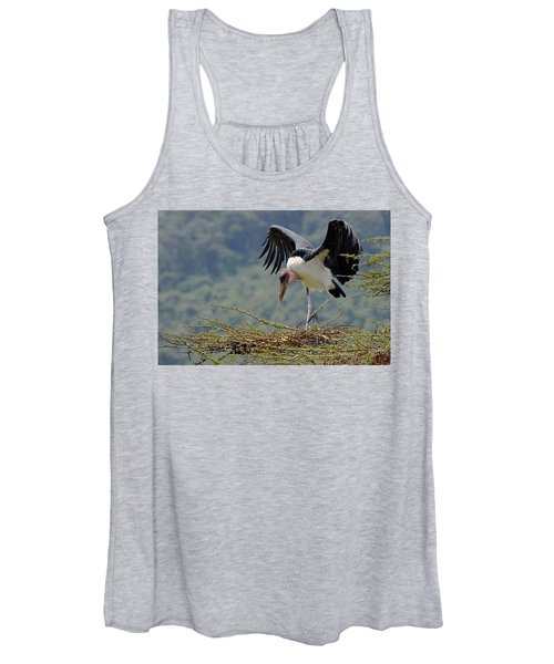 Marabou Stork Women's Tank Top