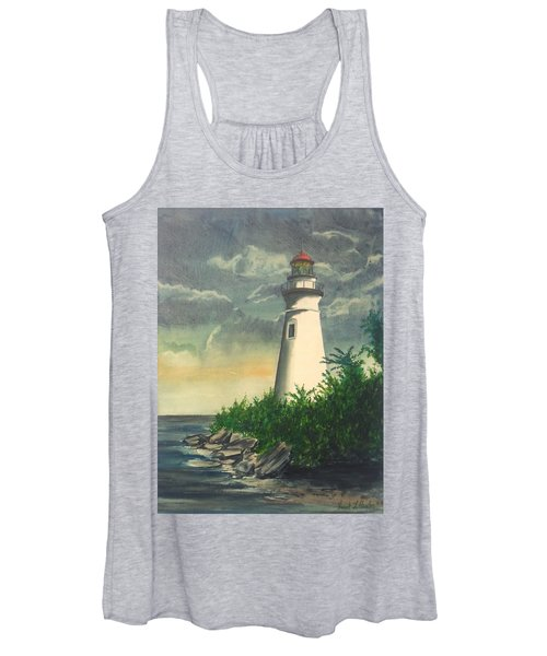 Marblehead Light On Lake Erie Women's Tank Top