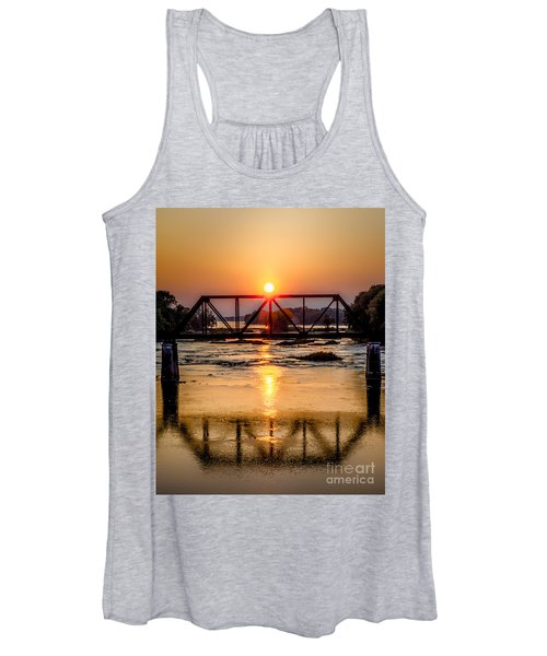 Maumee River At Grand Rapids Ohio Women's Tank Top