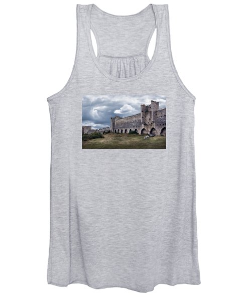 Medieval City Wall Defence Women's Tank Top