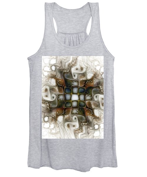 Memory Boxes-fractal Art Women's Tank Top