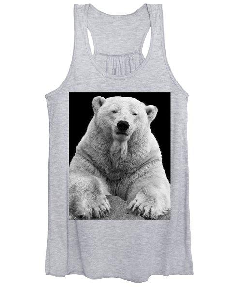 Mercedes The Polar Bear Women's Tank Top