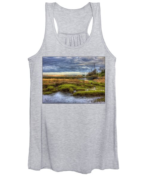Merrimack River Marsh Women's Tank Top