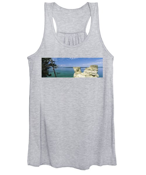 Miners Castle, Pictured Rocks National Women's Tank Top