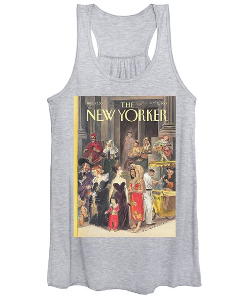 Monday At The Met Women's Tank Top