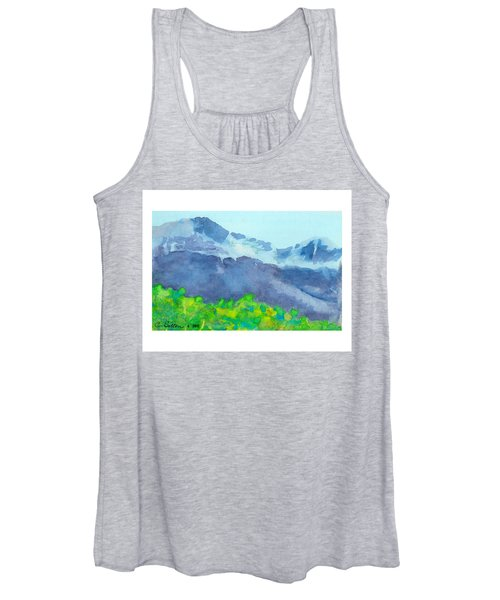 Montana Mountain Mist Women's Tank Top