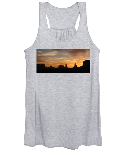 Monument Valley Sunrise Women's Tank Top