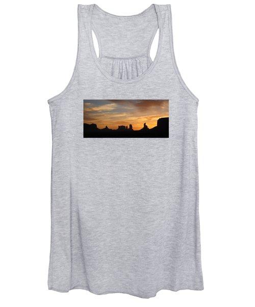 Monument Valley Sunrise Women's Tank Top