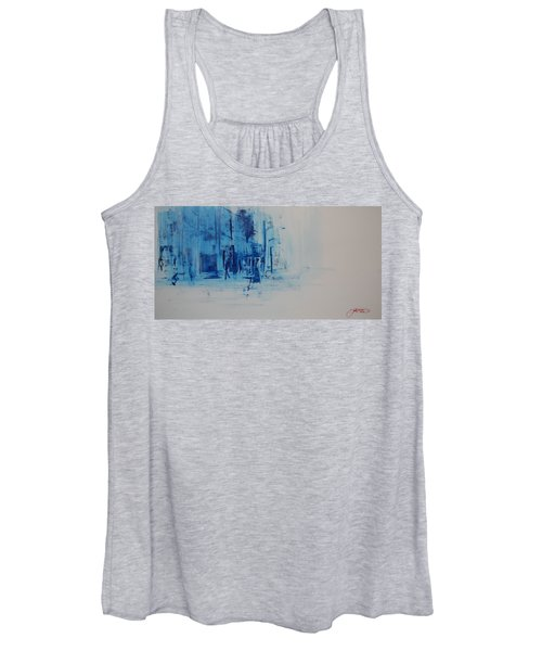 Morning In The City Women's Tank Top