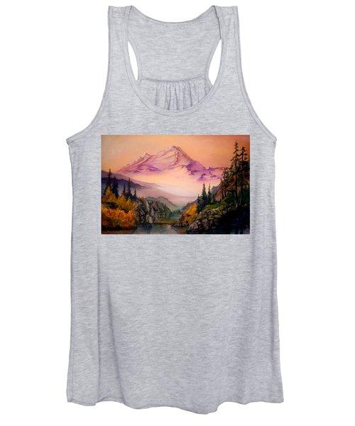 Mount Baker Morning Women's Tank Top