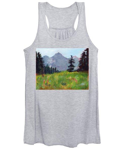 Mountain View Women's Tank Top