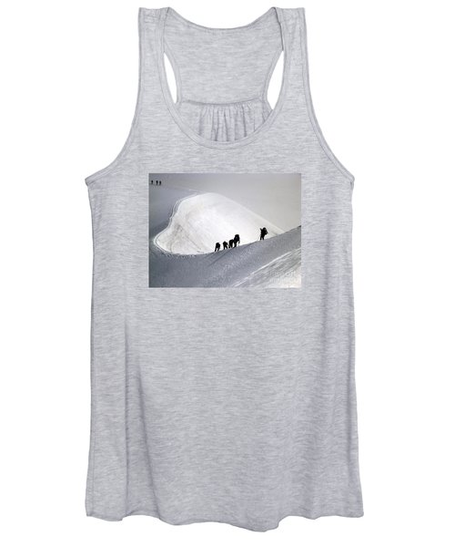 Mountaineers To Conquer Mont Blanc Women's Tank Top