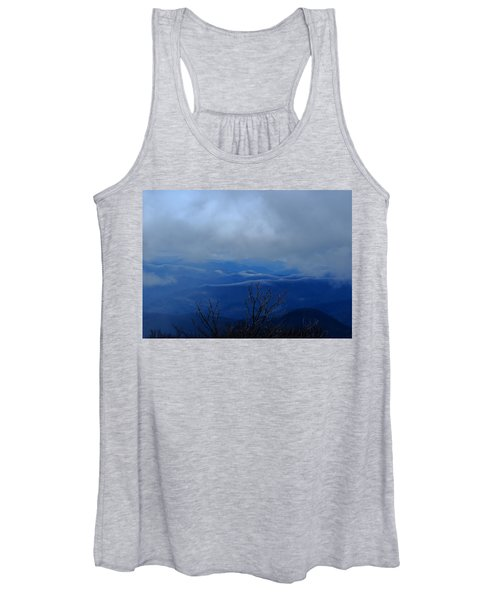 Mountains And Ice Women's Tank Top