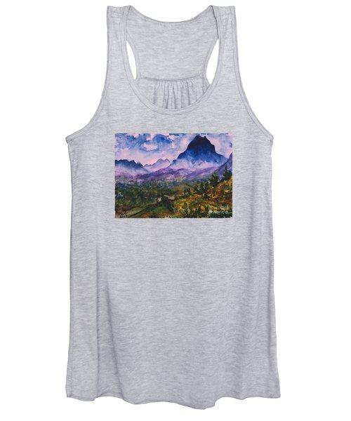 Mountains Of Pyrenees  Women's Tank Top