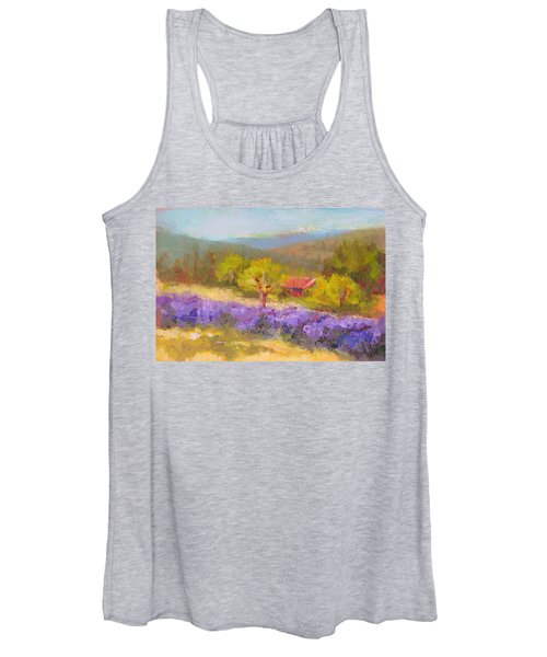 Mountainside Lavender   Women's Tank Top