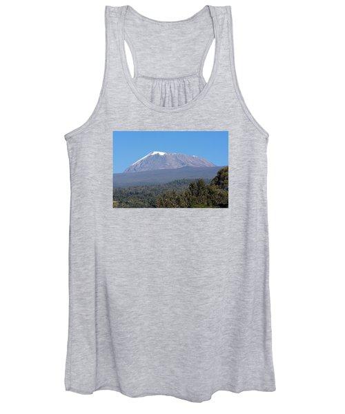 Mt Kilimanjaro  Women's Tank Top