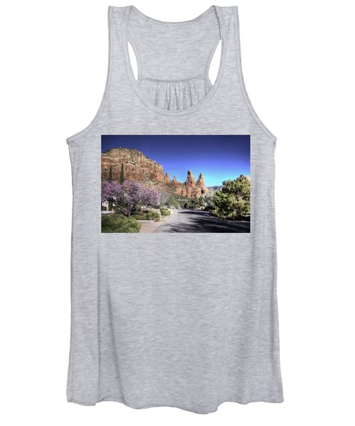 Mushroom Rock Women's Tank Top