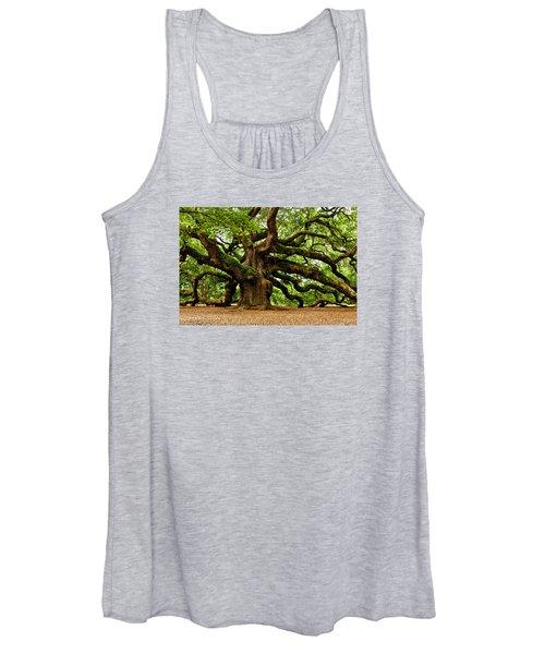 Mystical Angel Oak Tree Women's Tank Top