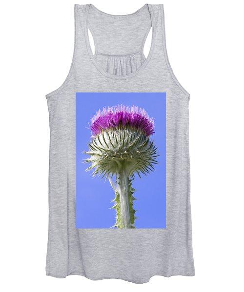 National Flower Of Scotland Women's Tank Top