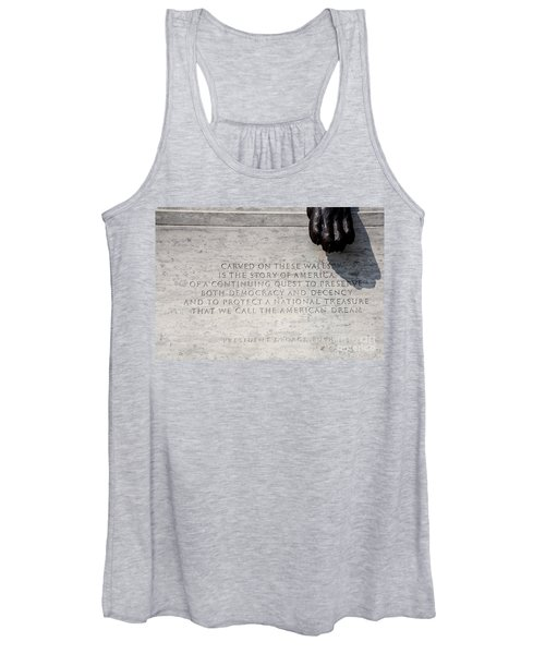 National Law Enforcement Officers Memorial Women's Tank Top
