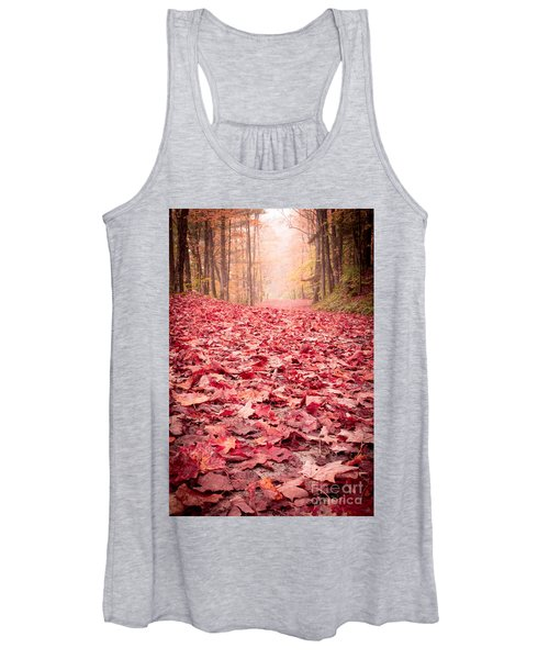 Nature's Red Carpet Revisited Women's Tank Top