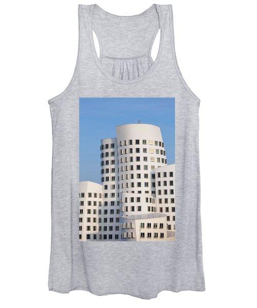 Neuer Zollhof Buildings Designed Women's Tank Top
