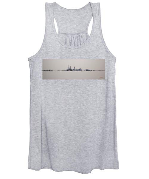 New York City 2013 Skyline 20x60 Women's Tank Top