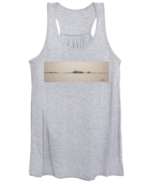 New York City Skyline 15x45 2013 Women's Tank Top