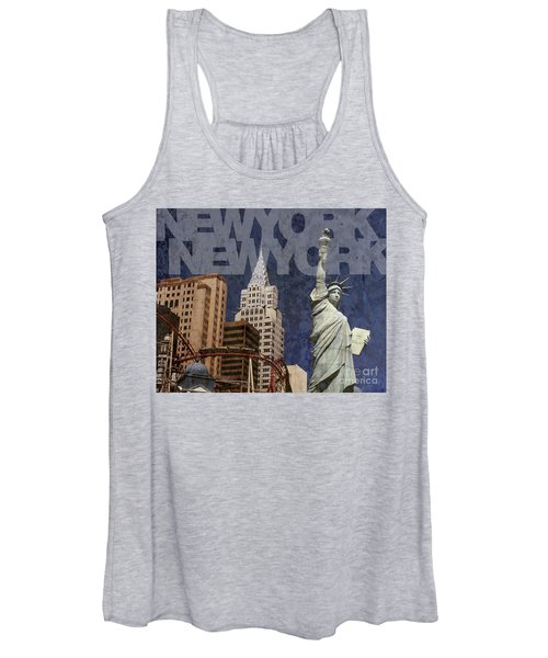 New York New York Las Vegas Women's Tank Top