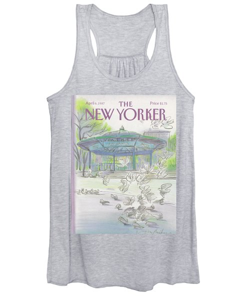 New Yorker April 6th, 1987 Women's Tank Top