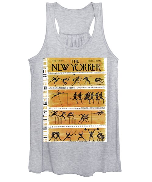 New Yorker August 27th, 1960 Women's Tank Top