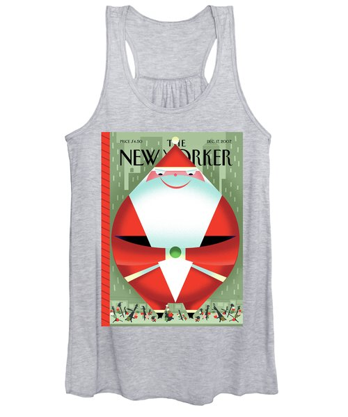 New Yorker December 17th, 2007 Women's Tank Top