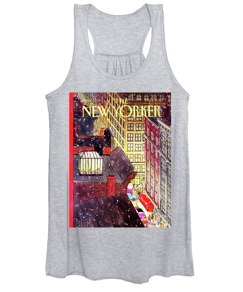 New Yorker December 7th, 1992 Women's Tank Top