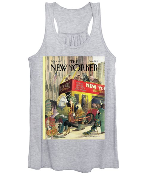 New Yorker June 16th, 1997 Women's Tank Top