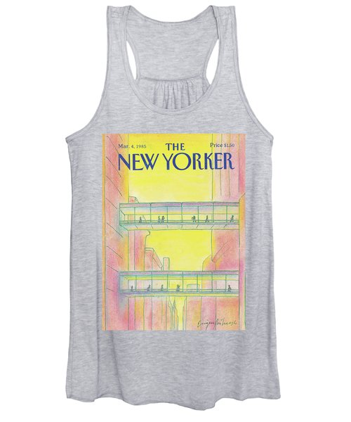 New Yorker March 4th, 1985 Women's Tank Top