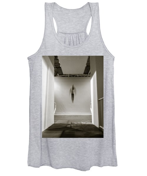 Newton's First Law Women's Tank Top