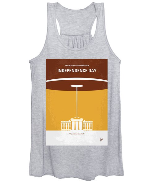No249 My Independence Day Minimal Movie Poster Women's Tank Top
