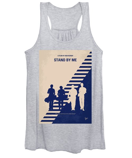 No429 My Stand By Me Minimal Movie Poster Women's Tank Top