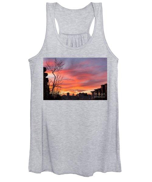 Nob Hill Sunset Women's Tank Top