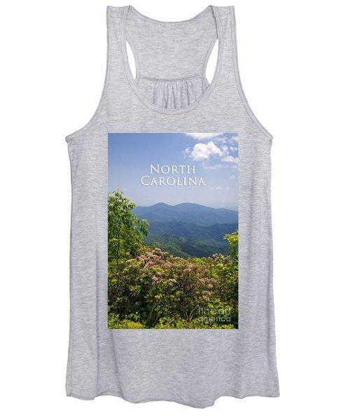 North Carolina Mountains Women's Tank Top