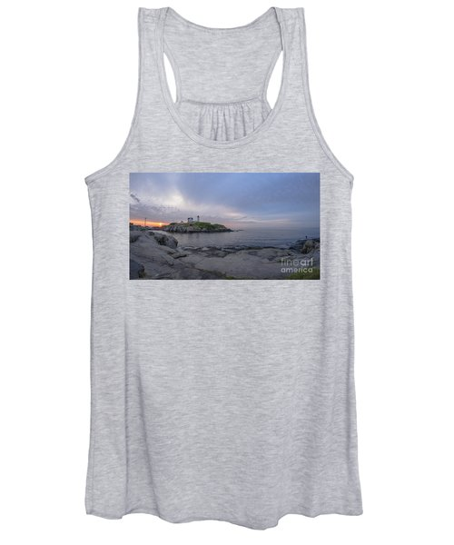 Nubble Lighthouse Women's Tank Top