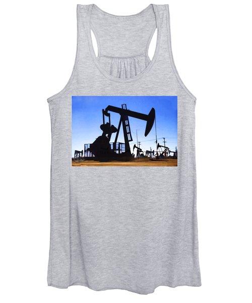 Oil Fields Women's Tank Top