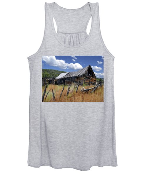 Old Barn Las Trampas New Mexico Women's Tank Top